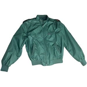 Members Only Vintage VIP Green Jacket Size 40